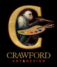 Crawford Art & Design - logo